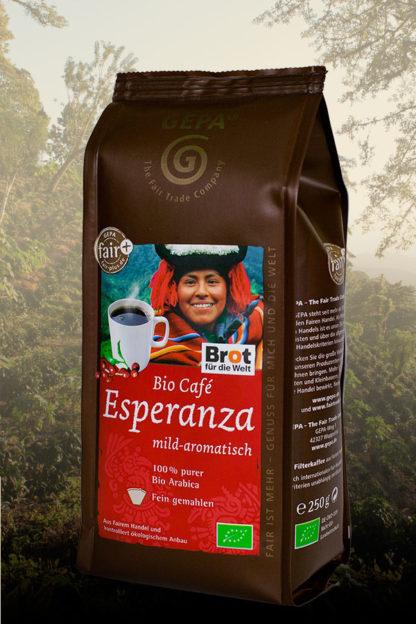 Bio Café Esperanza, Mexiko, Nicaragua, Bolivien, gemahlen 250g-0