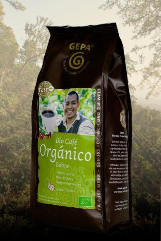 Café Orgánico, Bio, aus Mexiko, in ganzen Bohnen , 250 g Päckchen-0