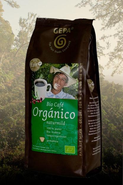 Café Orgánico - Bio -, aus Mexiko, gemahlen, im 250g - Päckchen -0