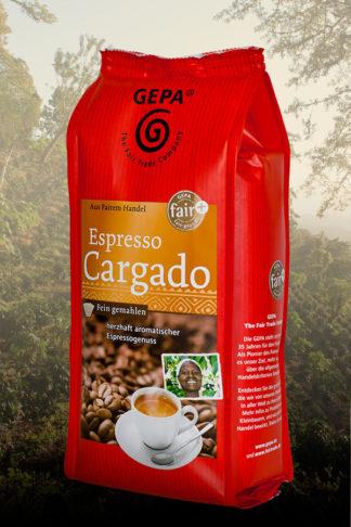 Espresso Cargado, verschiedene Herkünfte, gemahlen, 250g-0