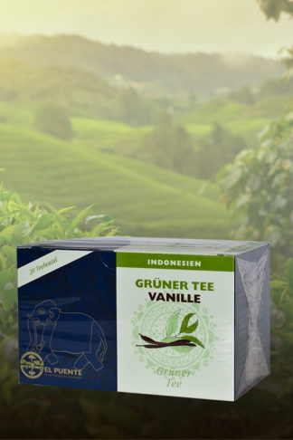 Grüner Tee Vanille, Teebeutel, 30g-0