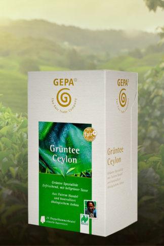 Bio Grüntee Ceylon, Teebeutel 50g-0