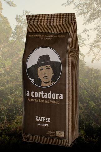 Kaffee Lacortadora, bio, aus El Salvador, gemahlen, im 500g - Beutel-0