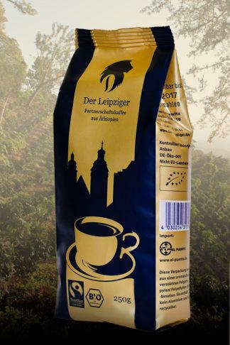 Der Leipziger-Partnerschaftskaffee, Bio, Äthiopien, gemahlen 250g-0