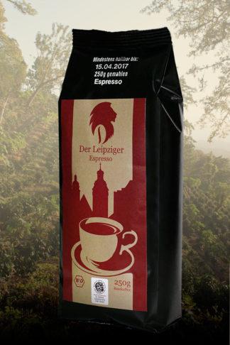 Der Leipziger Espresso, bio, Bohne 250g-0